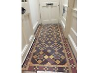 Reclaimed Victorian tiles - HC Webb of Worcester