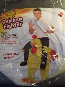 Chicken fighter costume adult/teen
