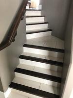 Flooring installation - Tile, Hardwood, Laminate, Vinyl Tile