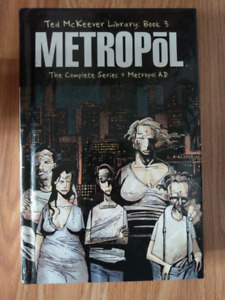 Metropol  by Ted McKeever book 3