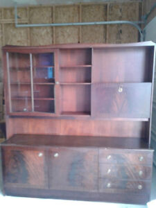 BEAUTIFUL MAHOGANY CABINET at a RIDICULOUSLY LOW PRICE!!!