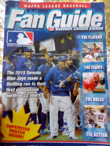Major League baseball Fan Guide and Poster