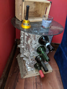 Engine table for the man cave