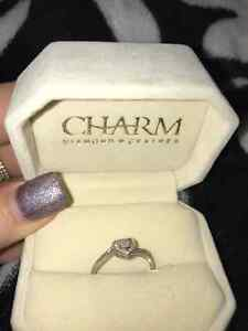 Charm Promise Ring