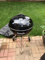 Weber grill & cover