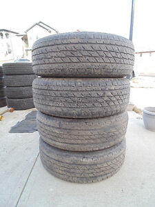 4 Set of TOYO H/T Open Country Tires 235/65R/17 All Weather