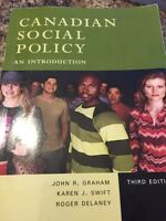 Canadian Social Policy An Introduction