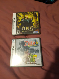 Sealed nintendo ds games sale or trade