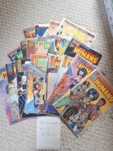 New Humans Comic lot #1-15 plus Annual 1987-89