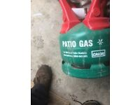 Patio gas bottle 5 kg empty