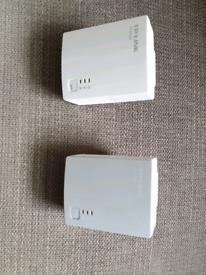 TP link powerline adapters X 2