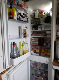Built-in zanussi fridge and freezer