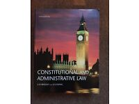 Law Textbook: Constitutional and Administrative Law