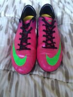 Nike Mercurial Soccer Cleats.