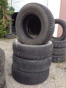 Four 235 70 R16 Toyo Open Country Winter Tires