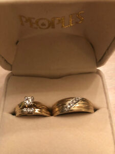 Wedding Rings & Engagement Ring