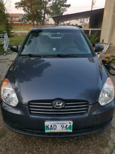 Hyundai Accent 2010, low km, cheap on gas