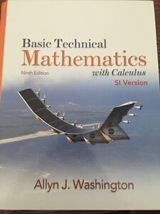 Basic Technical Mathematics with Calculus - Ninth Edition