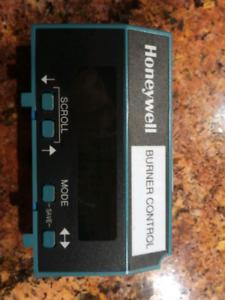 Honeywell Burner Control screen