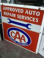 2 Sided Auto Repair Sign