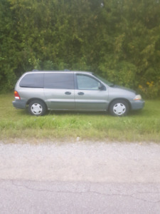 2002 ford windstar van loaded 173,000 klm  etested estate sale