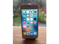 APPLE IPHONE 6 ROSE GOLD 16GB O2/GIFFGAFF