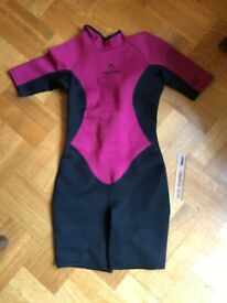 Women's shortie wetsuit