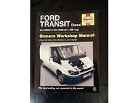 New Haynes Manual for MK6 Transit
