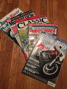 Classic Motorcycle magazine collection