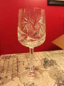 Beautiful Imperial crystal glasses