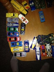Around forty different dinky cars