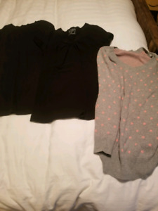 Huge lot of maternity clothes. Sizes s-m.