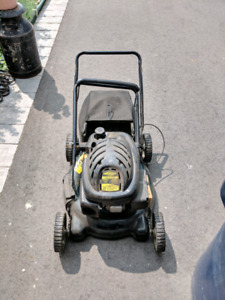 Gas lawnmower, comes with bag,