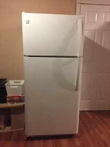 Kenmore frost free fridge and stove