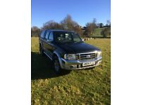 Ford ranger xlt pick up double cab 4x4