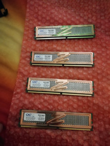 OCZ PC2-6400 - 4x 1GB DDR2 RAM