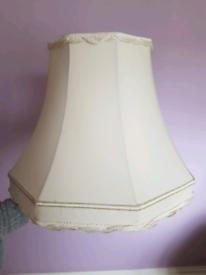 Standard lamp shade - cream