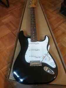 Stratocaster Vintage V6BB Black Neuve