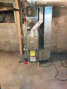 Furnace, A/C, HWT installs, repair and replacements