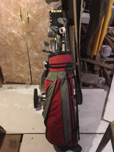 golf clubs roller blades and accessories