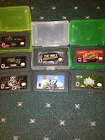 Lot of gameboy advance games for sale