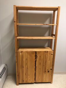 Wooden Shelving and Storage
