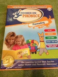 Hooked on Phonics learning system