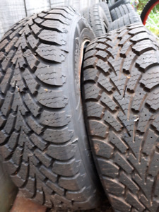 2× Good Year Nordic winter tires P185/60R14