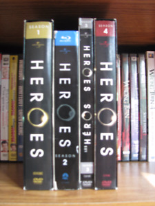 Heroes: The Complete Series (DVD & Blu-Ray)