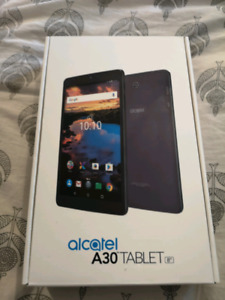 New alcatel A30 tablet