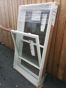 4 NEW 'VINYLBILT' DOUBLE HUNG WINDOWS