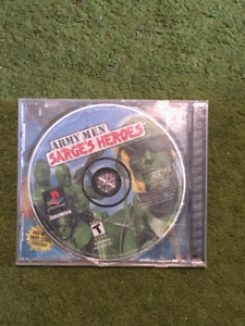 Army Men: Sarge's Heroes for PS1