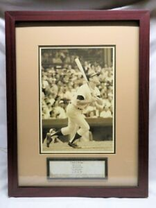 MICKEY MANTLE, Photo Framed Matted Display, Legends of the Game
