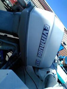Evinrude 115hp Open Bow with Stereo